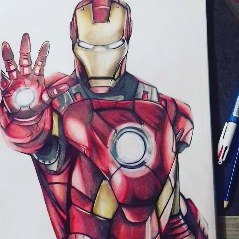 Dessin - Iron Man